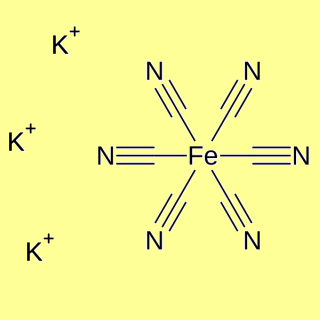 Potassium Hexacyanoferrate(III), pure for analysis - min 99%