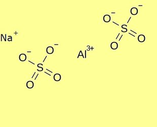 Aluminium Sodium Sulfate dodecahydrate, pure - min 99%