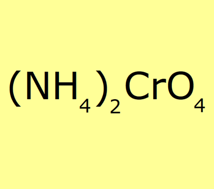 Ammonium Chromate, pure - min 99%
