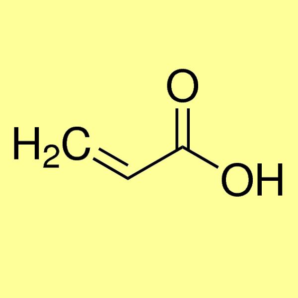 Acrylic acid, min 98%, (stab. with ~200ppm 4-methoxyphenol)