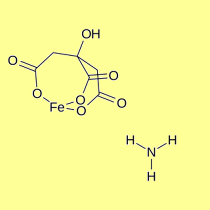 Ammonium Iron(III) Citrate (Ammonium Ferric Citrate), brown