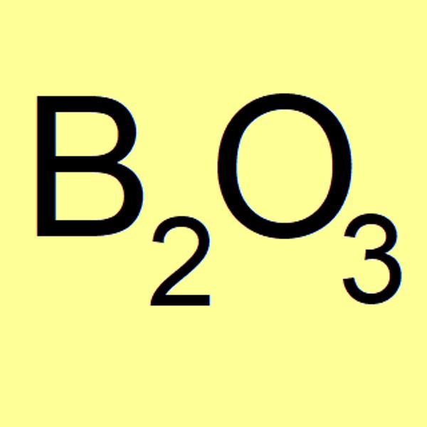 Boron oxide (boric anhydride), ~98.5%
