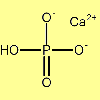 Calcium Phosphate Dibasic (Calcium hydrogen phosphate), pure for analysis – min 97.0%