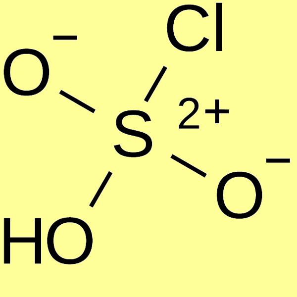 Chlorosulfonic acid, min 97%