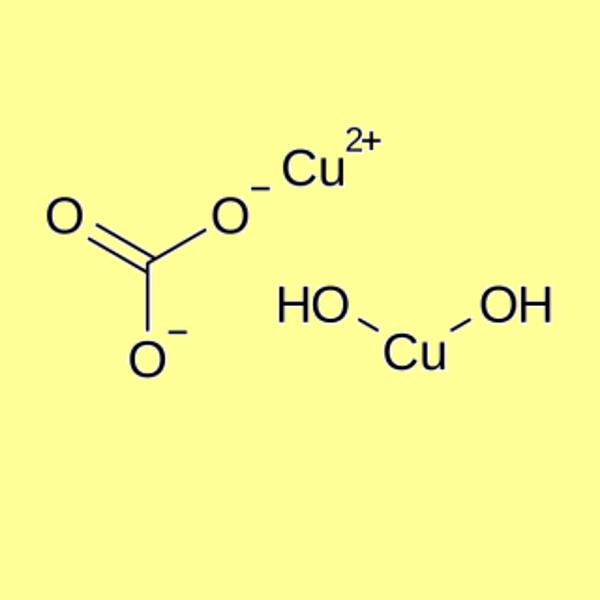 Copper(II) carbonate basic, pure (Cu 52,0% – 56,0%)