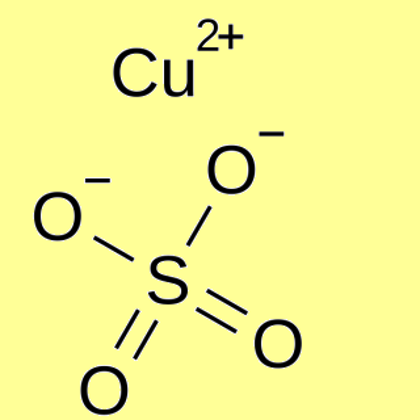 Copper(II) sulfate anhydrous, pure - min 97.5%