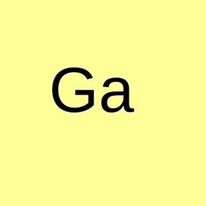 Gallium metal, 99.99% (4N)