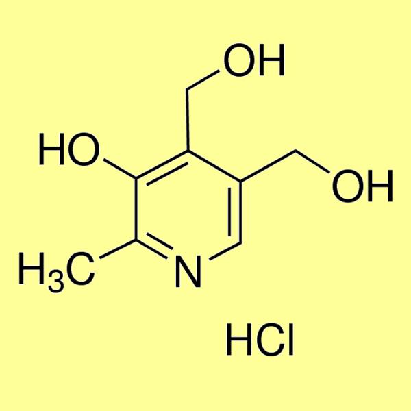 Pyridoxine hydrochloride (Vitamin B6 hydrochloride), min 99%