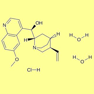 Quinine hydrochloride dihydrate, min 95%, FG