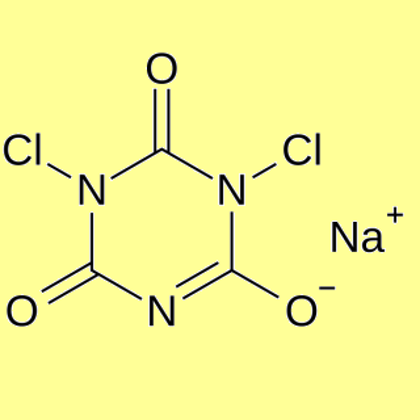 Sodium Dichloroisocyanurate (Dichloroisocyanuric acid Sodium salt), min 97%