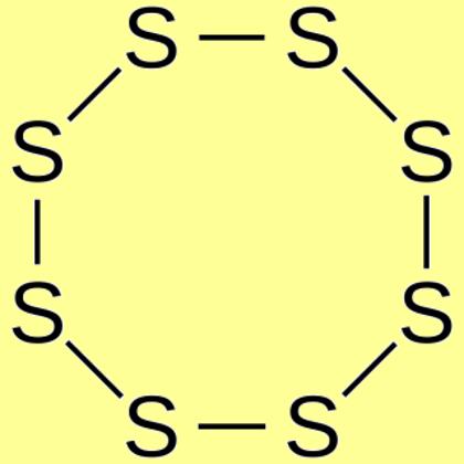 Sulfur powder, reagent (ground)
