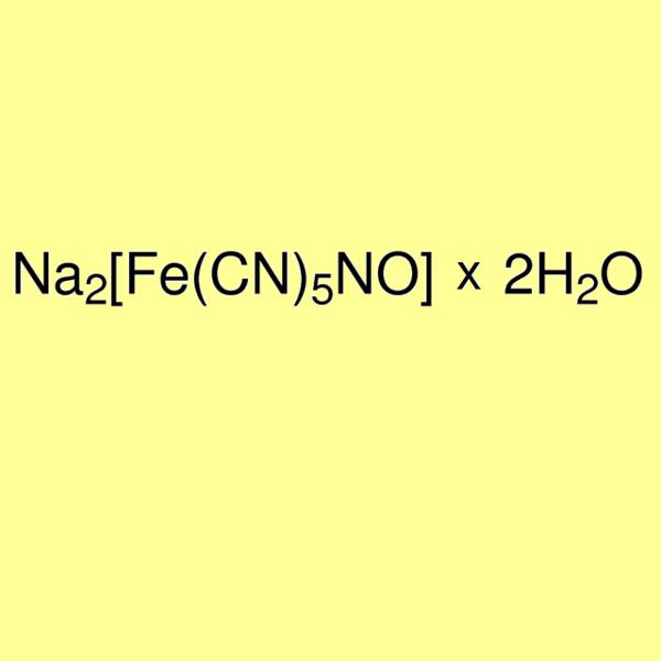 Sodium nitroprusside, pure for analysis - min 99%